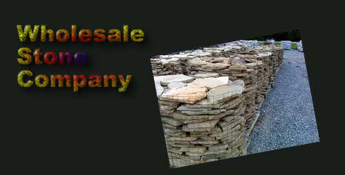 Wholesale River Rock page  Image of pallets of stone